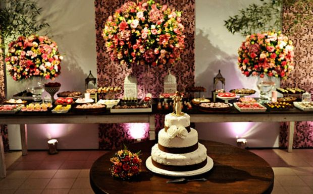 Dicas de decoração para casamento  Evento, Turismo e Hotelaria