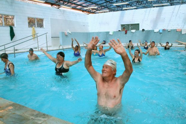 Reabilitação para idosos