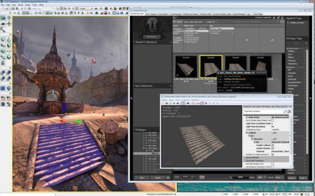 Usando o UDK Unreal Engine 2.5 para produzir games
