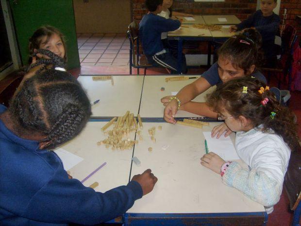 Ensinando subtração e adição para crianças