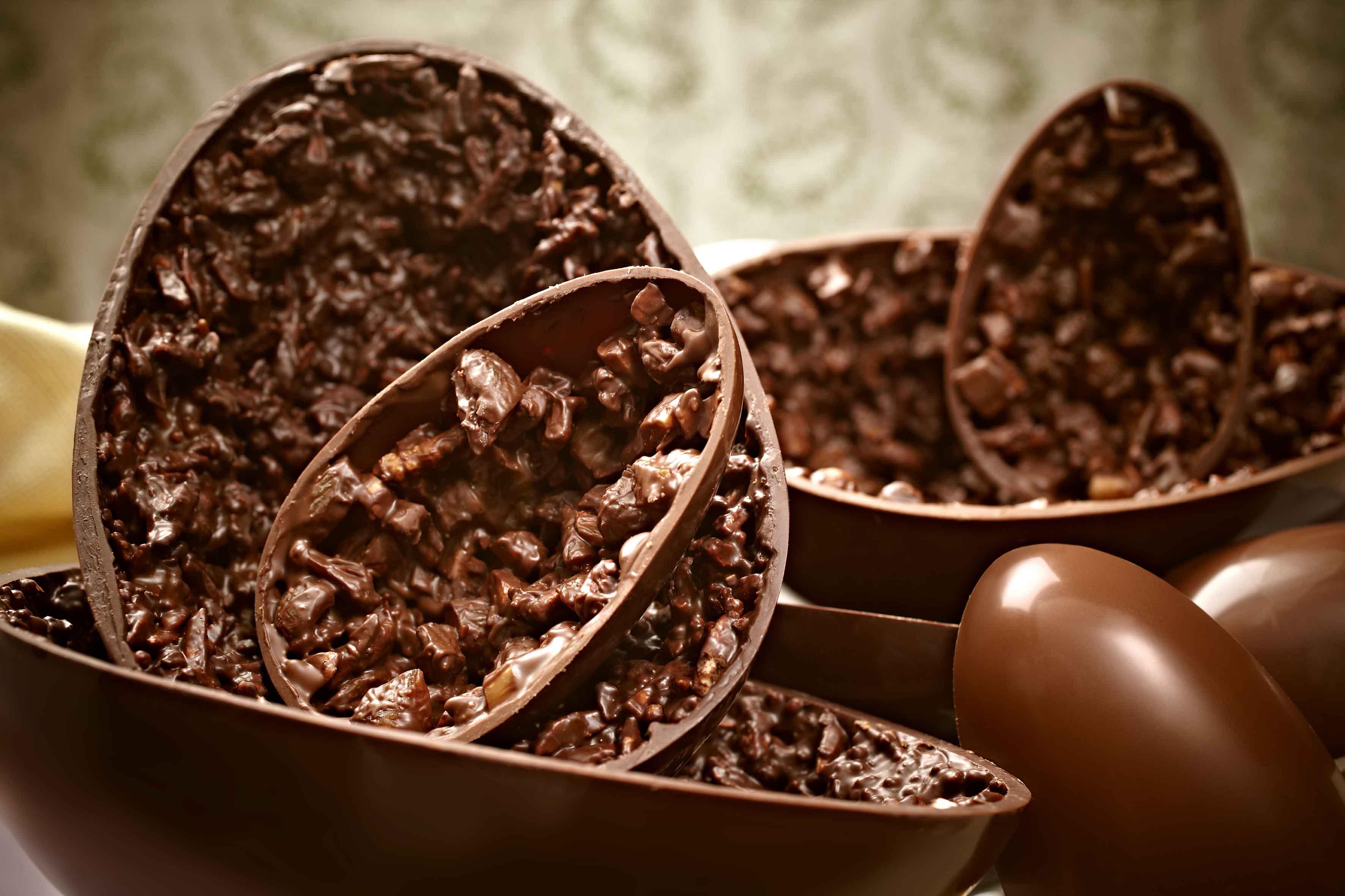 curso de ovos de chocolate...