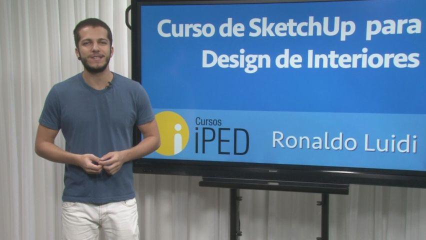 Curso de SketchUp para Design de Interiores