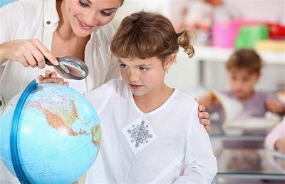 curso de geografia infantil...