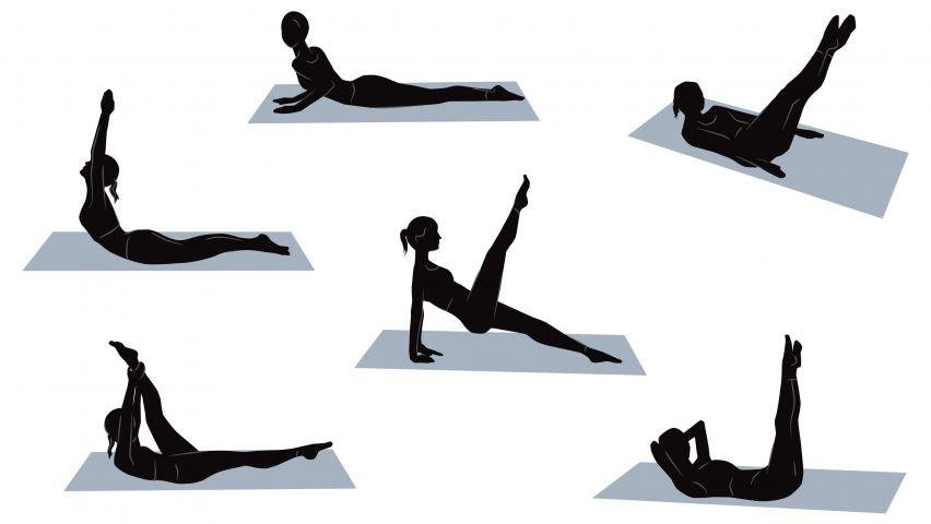 Curso de Pilates: Exercícios para Principiantes e Intermediários