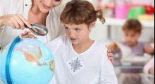 Ilustração - Curso de Geografia Infantil